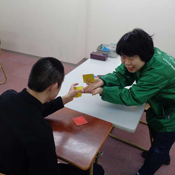 個別対応でのカード学習